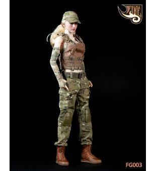 *Fire Girl Toys 1/6 Female Tactical Shooter Uniform Set / 戰術女槍手套裝 FG003