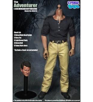 CyberToys The Adventurer 冒險家 頭雕及衣服套裝