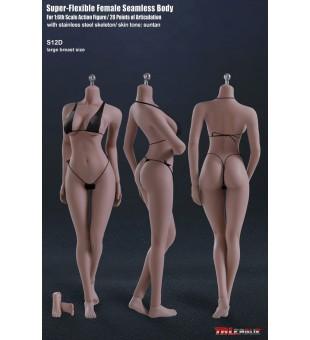 TBLeague Seamless Big Breast Suntan Female Body 大胸女 小麥色 素體 PLMB2017-S12D
