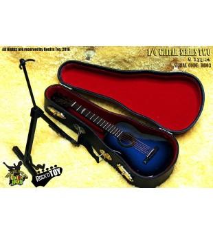 1/6 Western Instrument Electric Guitar Blue Color / 1比6 西方樂器 電吉他 藍色