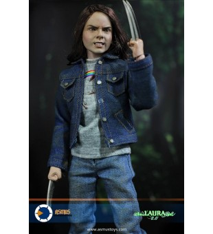 Asmus Toys 1/6 The Laura Set 2.0 Combo Set / 1比6 The Laura 2.0 衣服套裝 及 頭雕連素體
