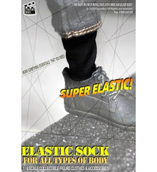 Elastic Sock (Black) / 彈力黑襪套