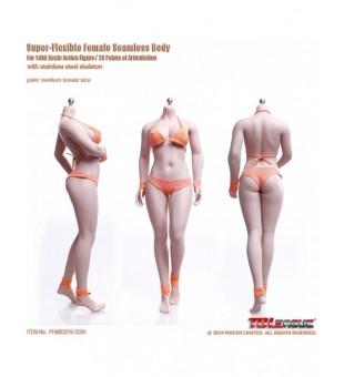 TBLeague Seamless  Micro Fat Female Body 中胸微胖女素體 PLMB2019-S28A Pale / 白膚色