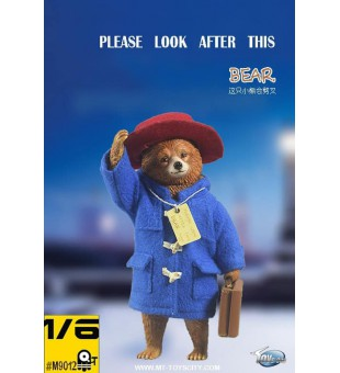 "Toys City  #TC-M9012 1/6 ""Please look after this bear."" Peruvian bear suit (Head and limbs movable )  ""請照顧好這隻小熊""- 秘魯小熊 套裝 (頭 四肢可動)"