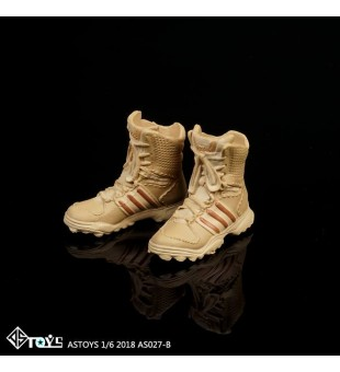 *ASTOYS 1/6 Female Combat Boots / 女兵作戰靴 AS027-B