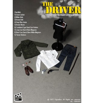 Figure Box 1/6 The Driver Clothes Set / 1比6 司機衣服套裝