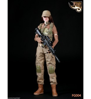 *Fire Girl Toys 1/6 Female Tactical Shooter Uniform Set / 戰術女槍手套裝 FG004