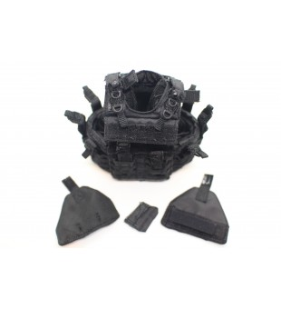 Army Bulletproof Vest Set (S.W.A.T) / 軍隊防彈背心裝備套裝 (反恐特警組)