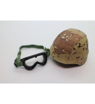 Army Helmet And Goggles (USMC 1991) / 軍事頭盔及防風鏡 (美國海軍陸戰隊 1991)