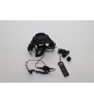 Army Helmet ,Telescope And Radio Head Set / 軍事頭盔,望遠鏡及耳機套裝
