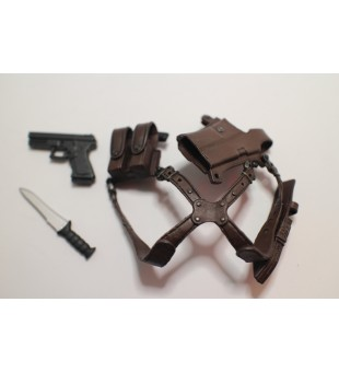Gun, Knife and Gun Bag / 手槍連槍袋及刀仔