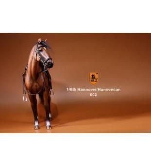 MR Z NO.17 1/6 Germany Horse 003 Brown white color  / MR Z NO.17 1比6 德國溫血馬 003 啡白色