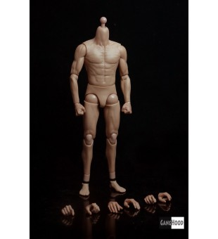 Ganghood 1/6 Asian style muscular body / Ganghood 1比6亞洲型肌肉素體