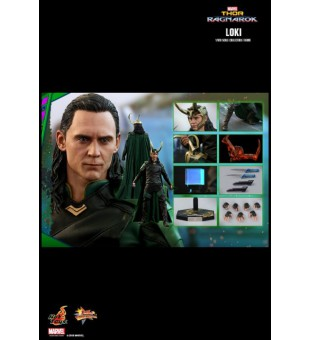 1/6 HotToys MMS472 Thor: Ragnarok Loki 雷神奇俠3:諸神黃昏 洛基 全新未開封