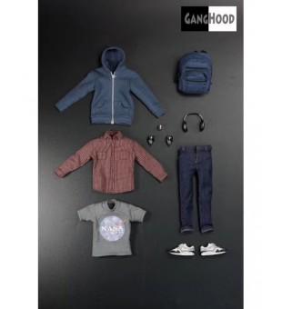 Ganghood Spider boy 2.0 clothes plus body / Ganghood 蜘蛛仔2.0 衣服及素體