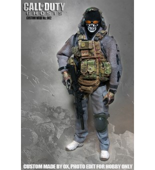 Custom 1/6 call of duty Ghost style PMC / 自組1比6 使命召喚 幽靈 僱傭兵
