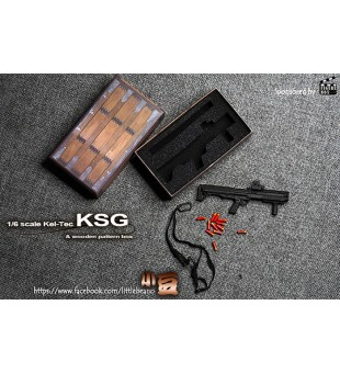 Figure Box 1/6 KSG Shot Gun BoxSet / 1比6 KSG散彈鎗套裝
